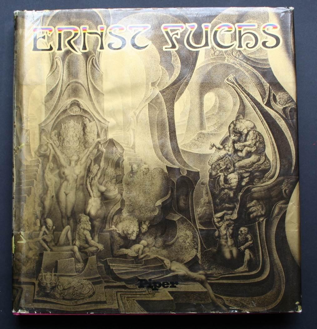 ERNST FUCHS - SIGNED BOOK WHIT PRINT