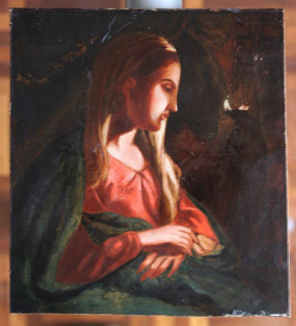 Italian school - paint - Madonna