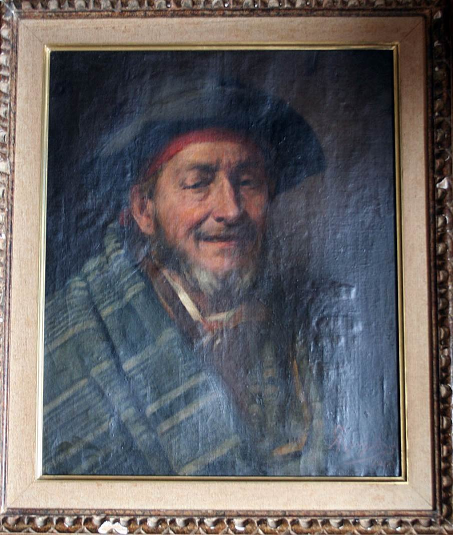 Portuguese paint - Oil on canvas -