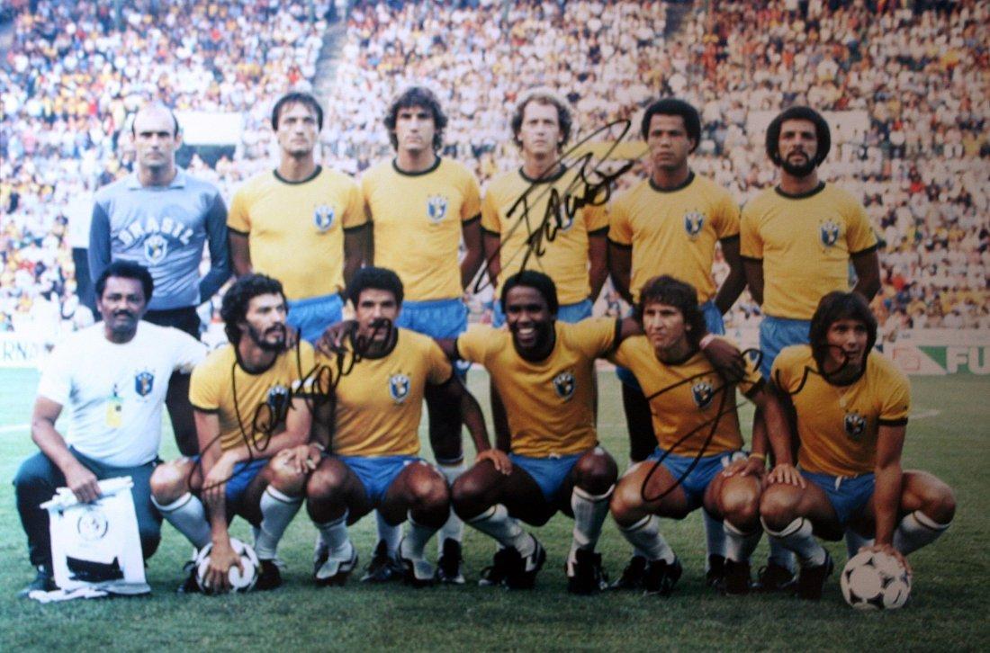 Brazilian team 1982 - Worldcup