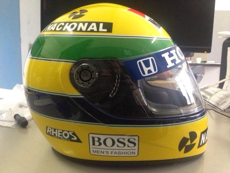 Ayrton Senna's Helmet -