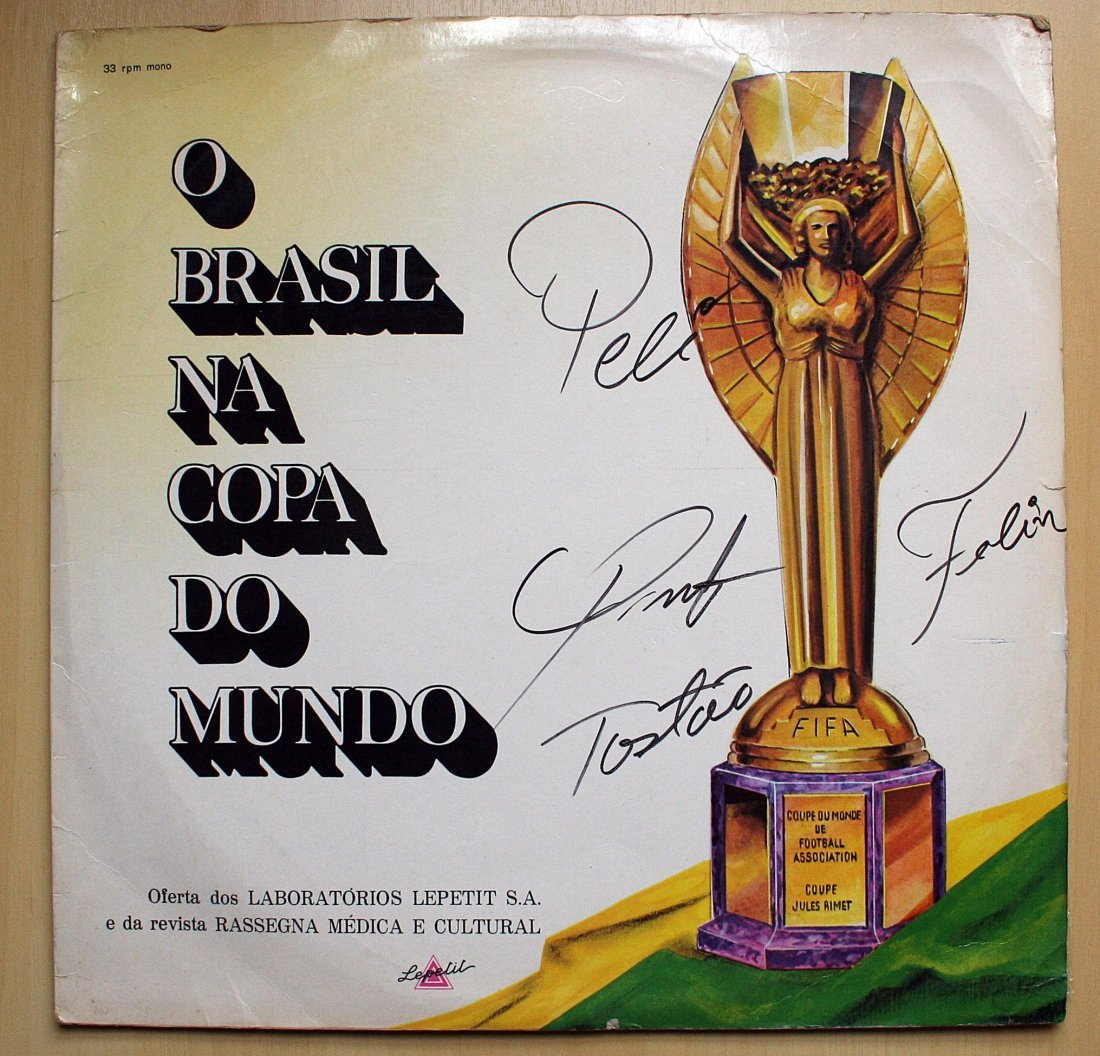 """Vinyl Record/LP - """"O Brasil na copa do mundo"""" - 1970 -"""