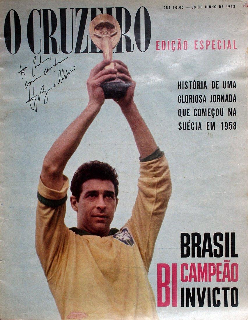 """Magazine - \""""O Cruzeiro special edition - 1962 world"""