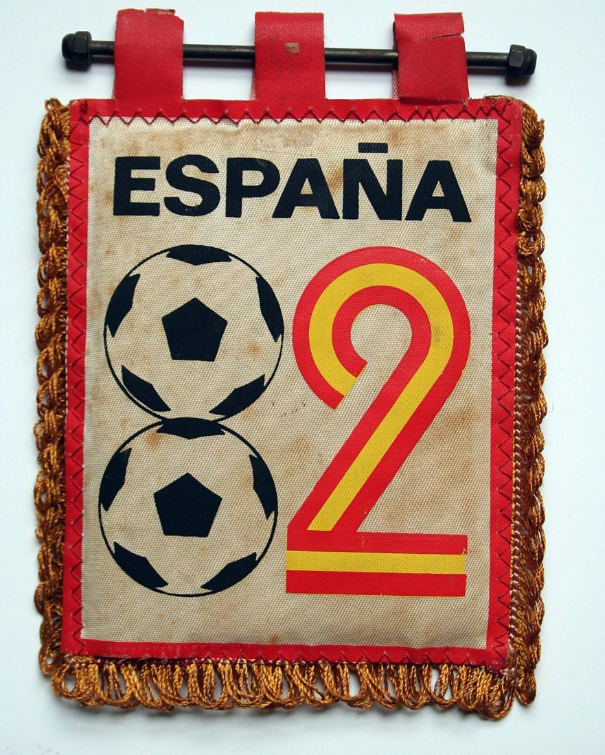 Flammule - Spain 1982 - World Cup
