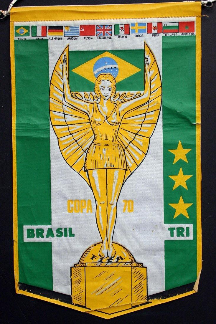Brazil Tri Champion 70'years - Flammule