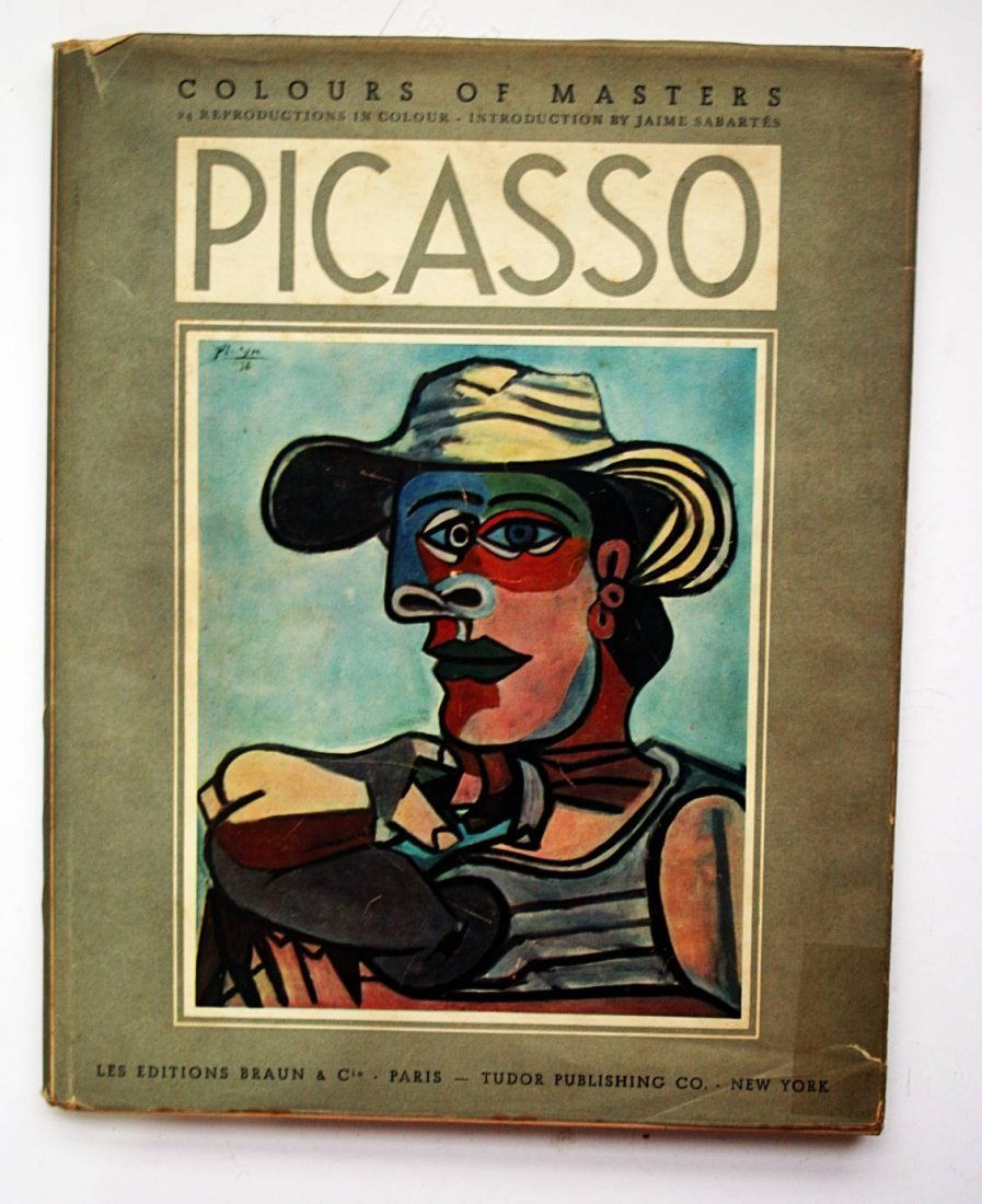 Picasso- Paintings and Drawings of Picasso- Autographed