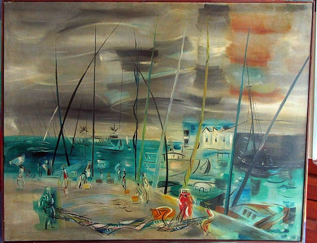 Raoul Dufy - Oil on canvas - (attrib)