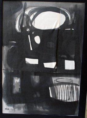 Mira Schendel - Drawing On Paper - 1964