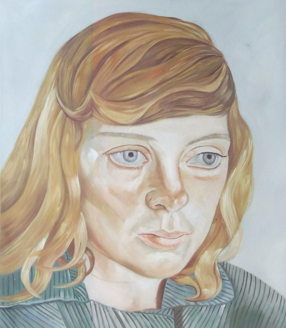 Lucien Freud - After lucien Freud -  Jewish girl