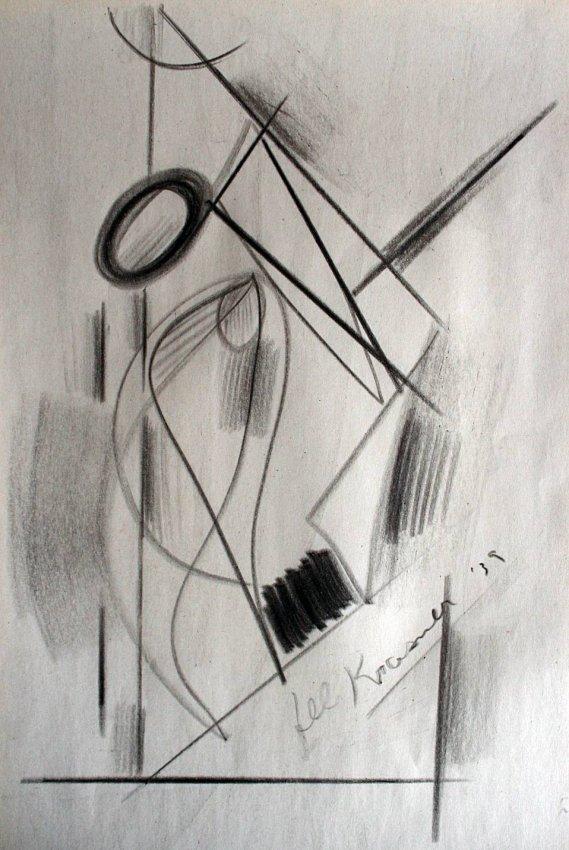 Lee Krasner - Drawing in paper 1939