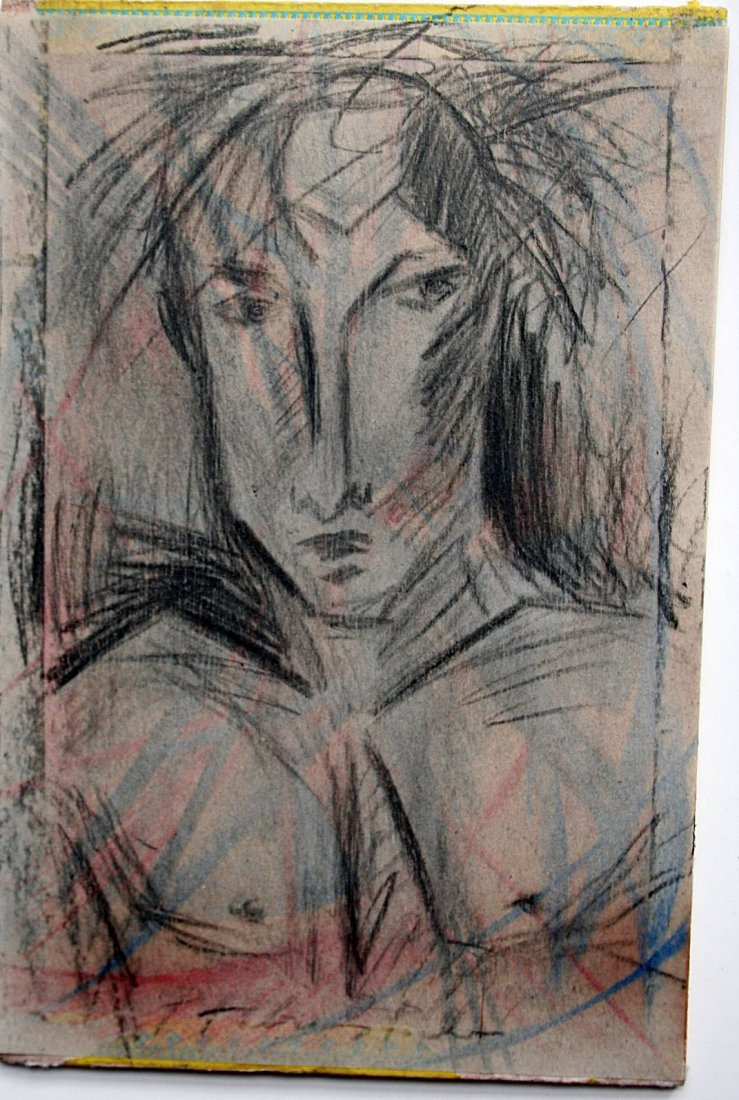 pavel tchelitchew - drawing on paper