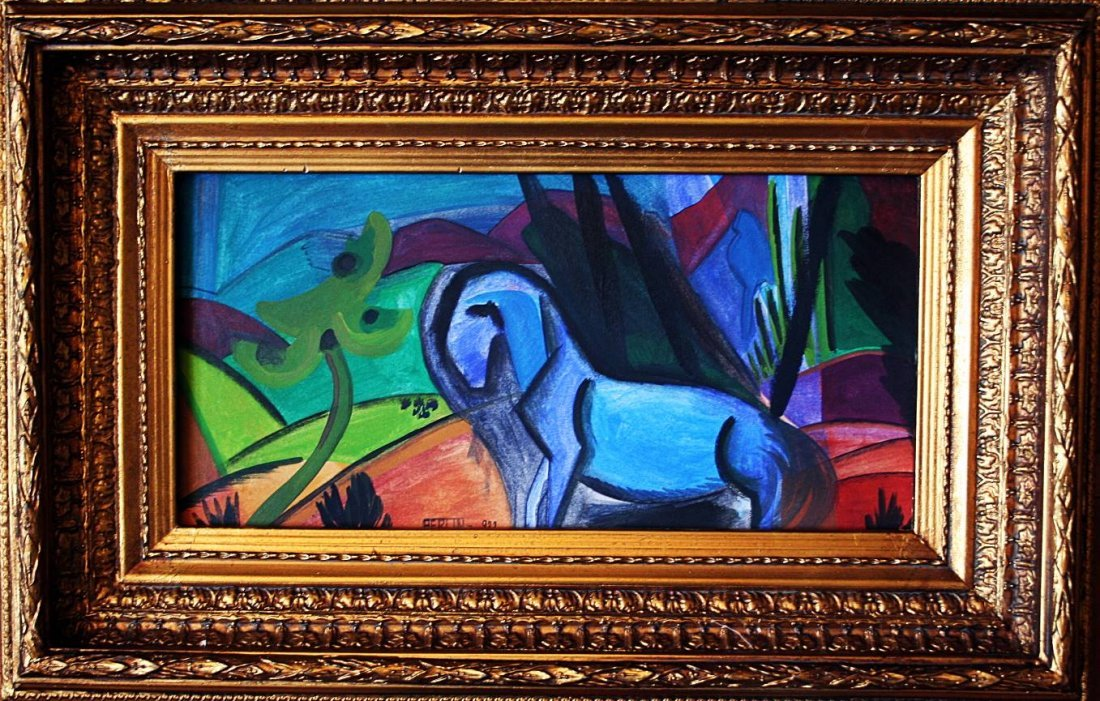 Expressionist - German - 1932 - oil on paper