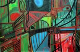 Roberto Burle Marx - Oil on canvas - 40 x 60cm