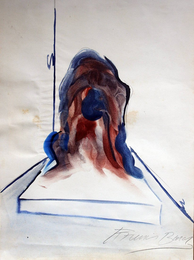 Francis Bacon - drawing on paper