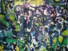 MODERN OIL PAINTING LOUISE ODES 1950 TO 1969