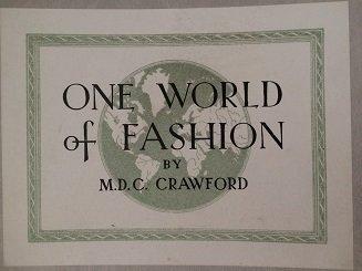 VINTAGE ONE WORLD FASHION BY M.D.C CRAWFORD