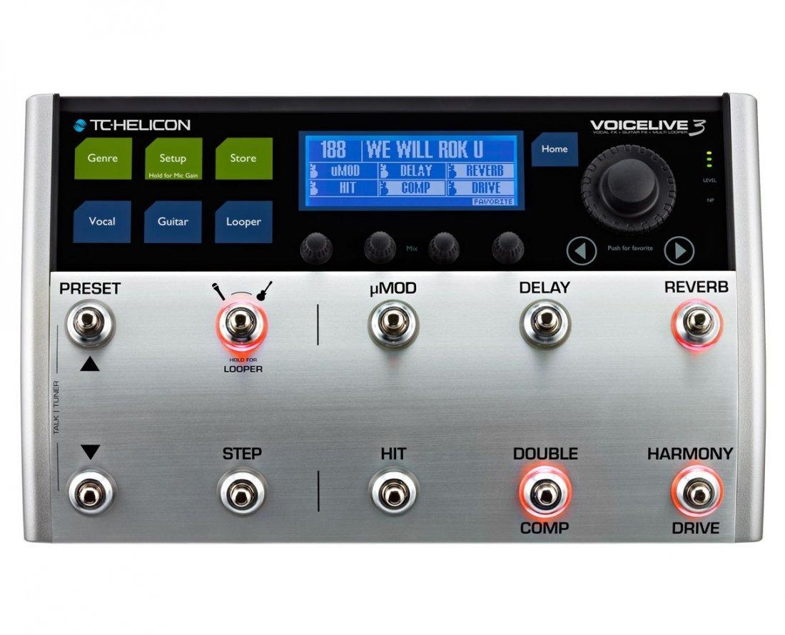 TC Helicon VoiceLive 3 Vocal Processor - 2