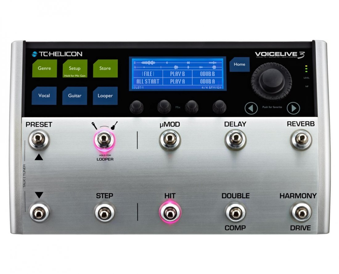 TC Helicon VoiceLive 3 Vocal Processor - 3