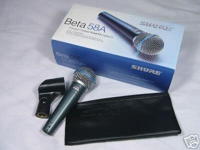 SURE BETA 58A Microphone