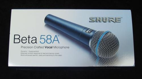 SURE BETA 58A Microphone - 2