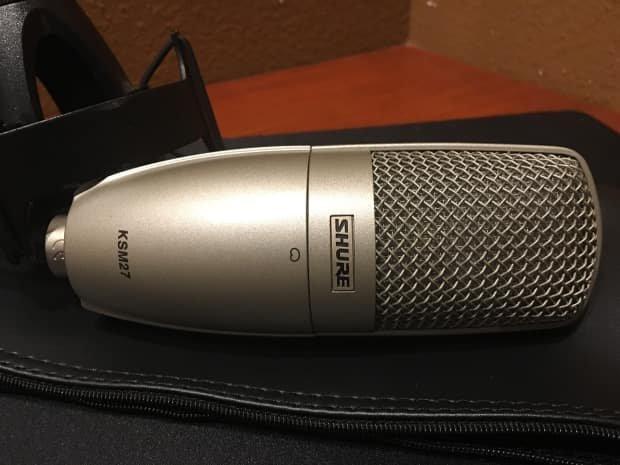 Shure KSM27 Cardoid Vocal Condser Microphone