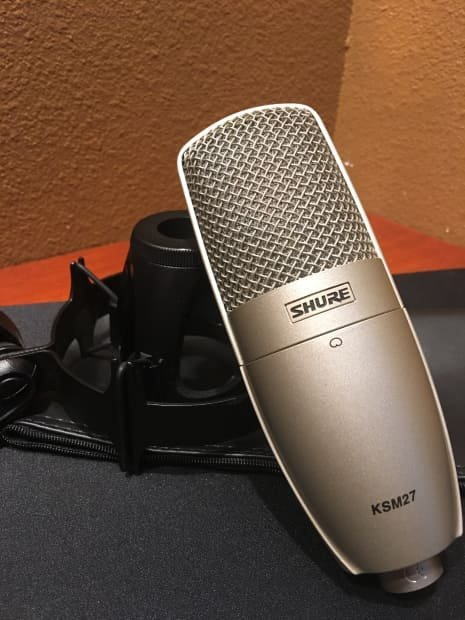 Shure KSM27 Cardoid Vocal Condser Microphone - 3