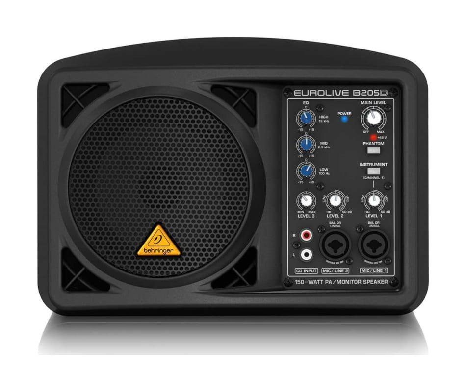 Eurolive 150-Watt PA/Monitor Speaker System B205D
