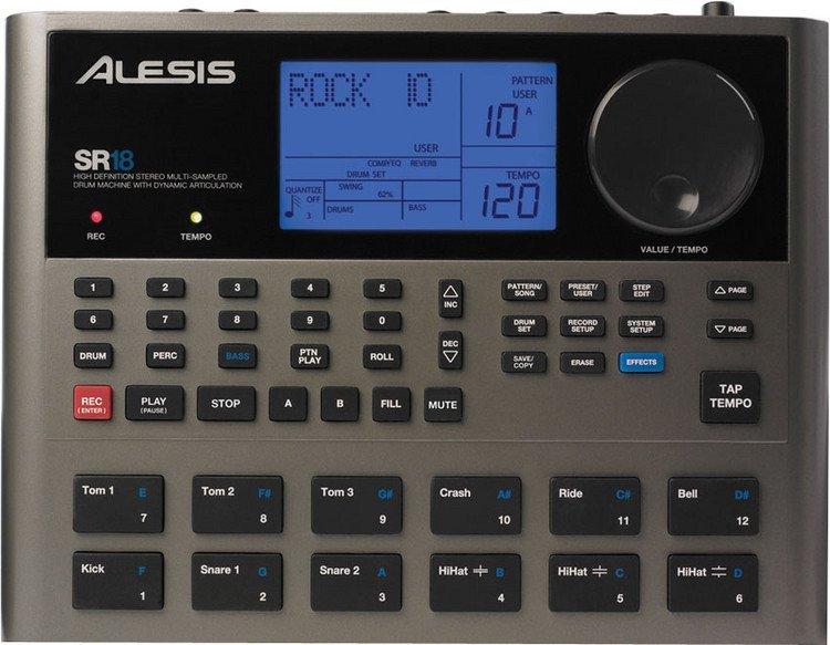 Alesis SR-18 High Definition Drum Machine