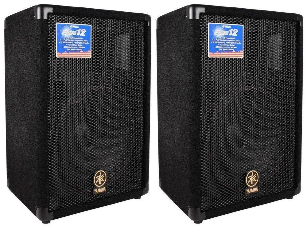 "Yamaha BR12 12"" Passive PA Speaker Set"