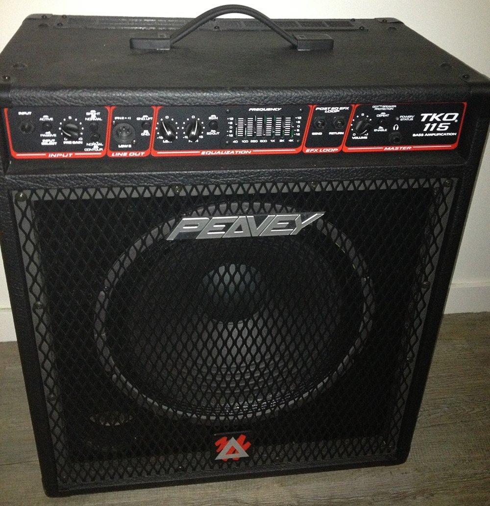 Peavey TKO 115 Bass Amp 100 Watts