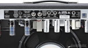 "Fender \'65 Deluxe Reverb - 22W 1x12\"" Guitar Combo - 3"