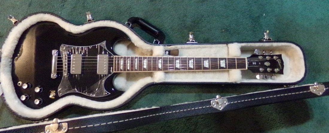 Gibson SG Standard T Electric Guitar  Ebony
