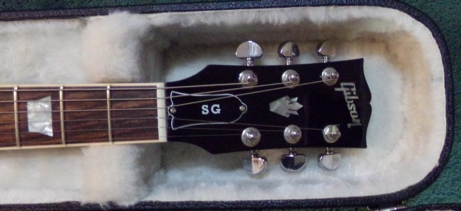 Gibson SG Standard T Electric Guitar  Ebony - 5