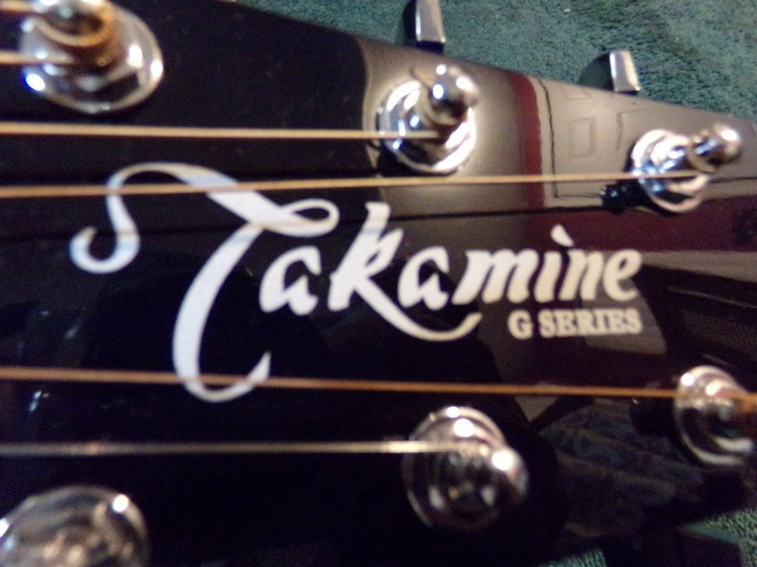 Gloss Blue Takamine EG440C-STBQ Electric Acoustic - 6