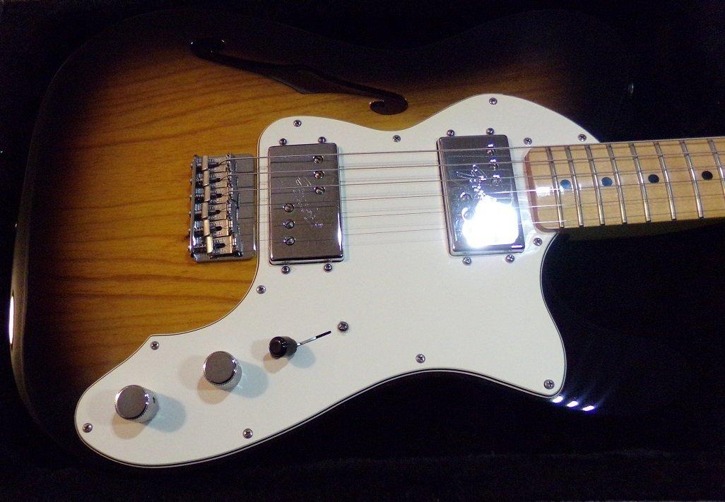 Fender Telecaster Thinline Electric Guitar - 2