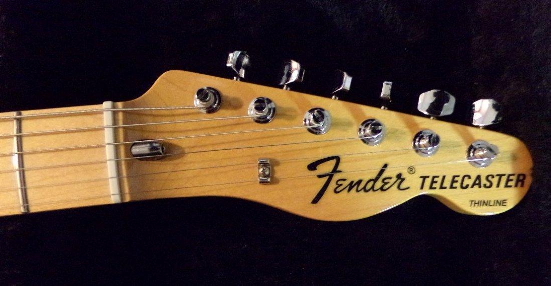 Fender Telecaster Thinline Electric Guitar - 4