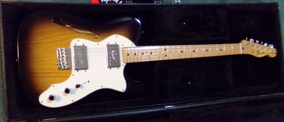 Fender Telecaster Thinline Electric Guitar - 6