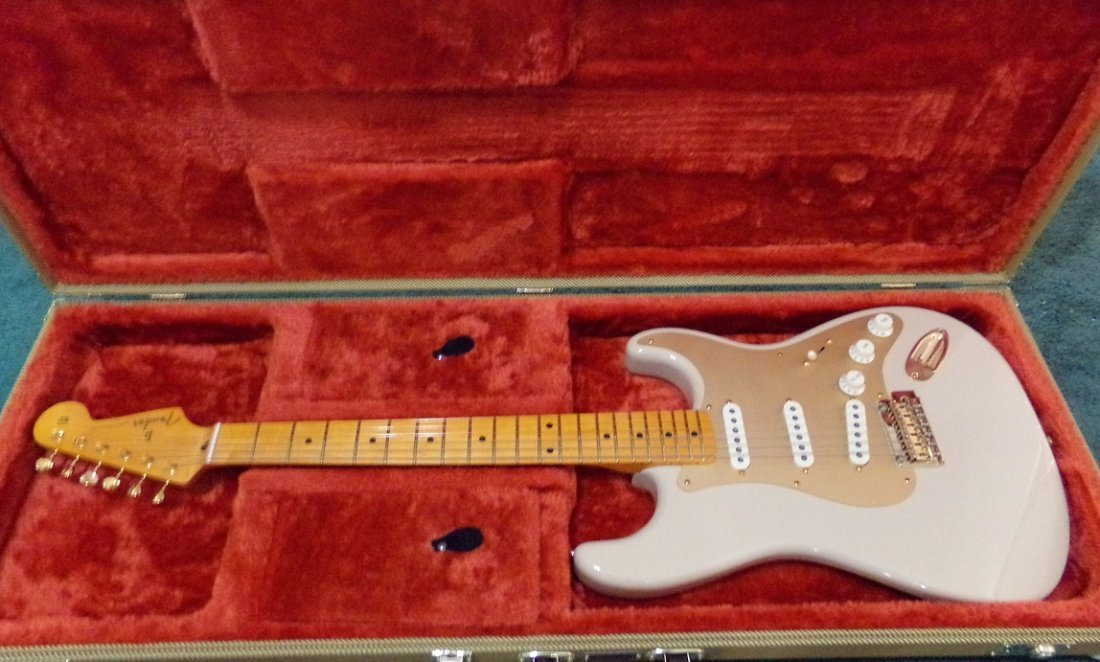 Fender Stratocaster Original Contour Body White Blonde - 2