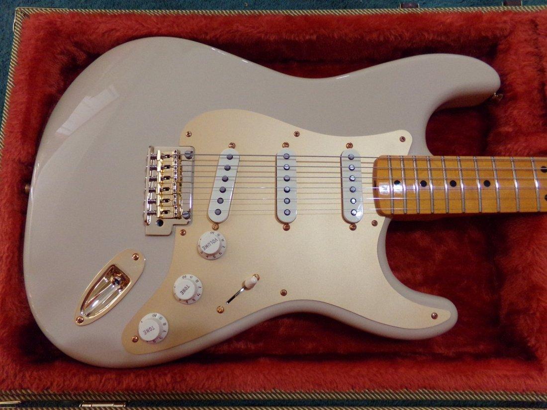 Fender Stratocaster Original Contour Body White Blonde - 3