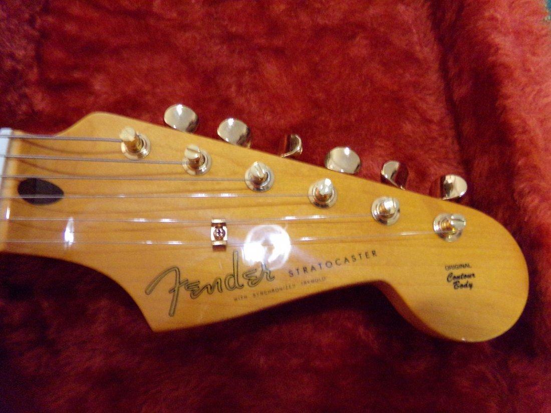 Fender Stratocaster Original Contour Body White Blonde - 4