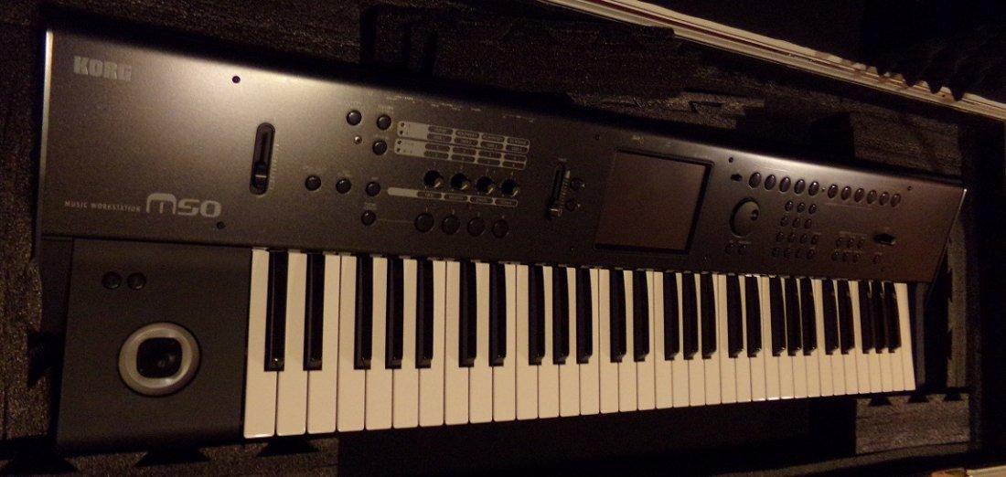 Korg M50 61-Key Music Workstation - 2
