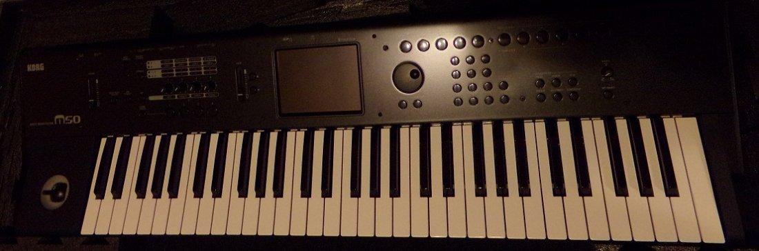 Korg M50 61-Key Music Workstation - 5