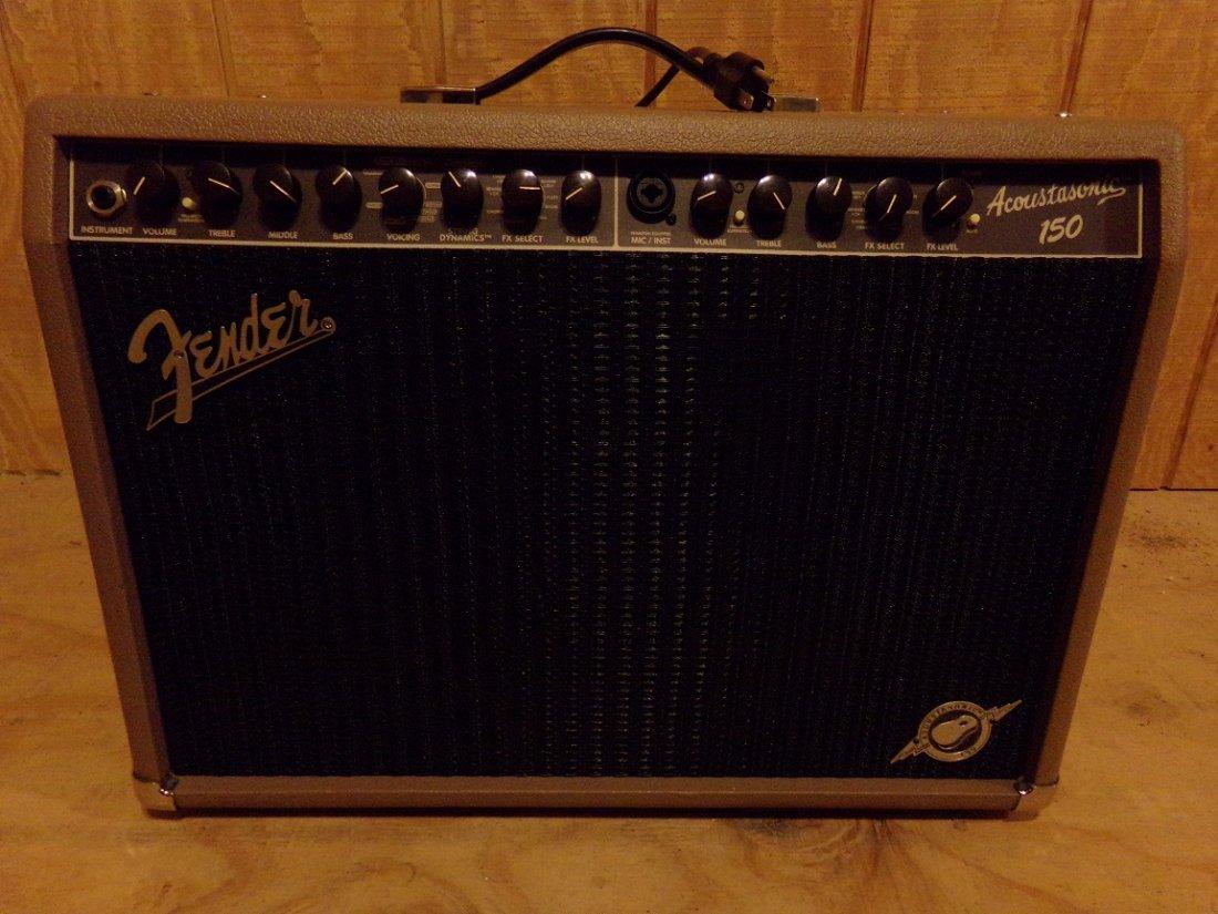 Fender Acoustasonic 150-Watt Acoustic Combo Amp