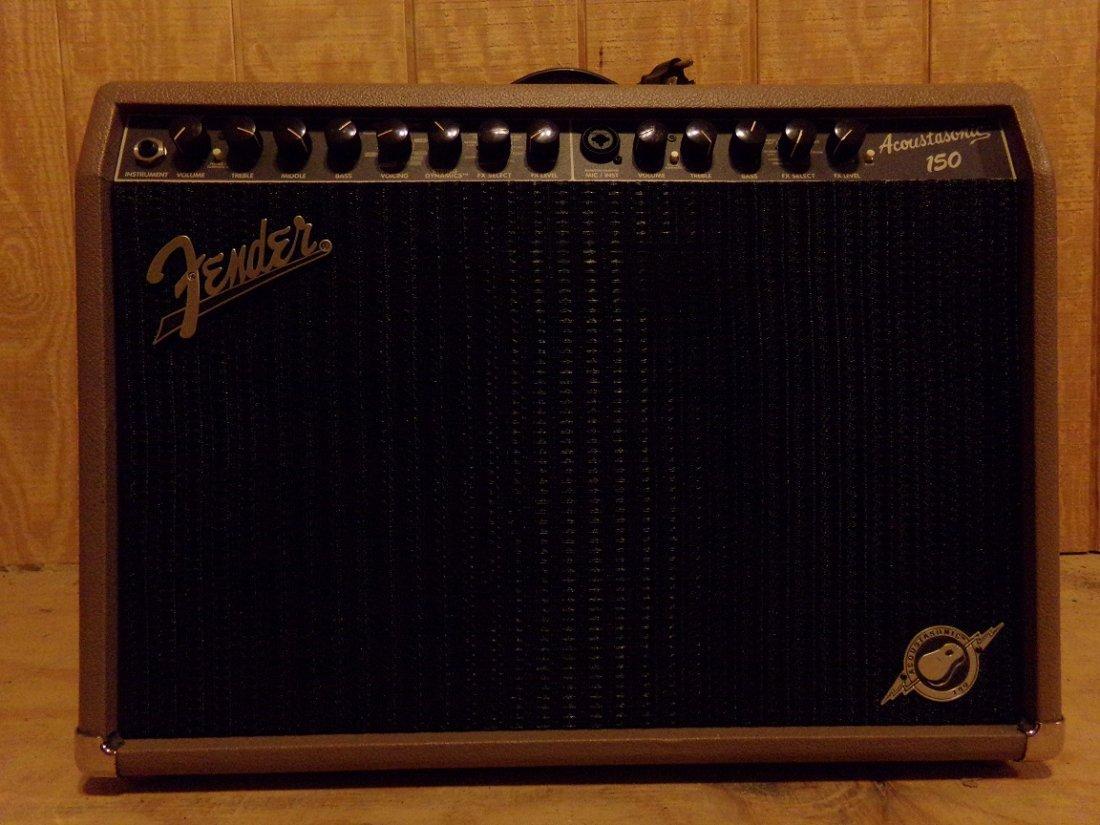Fender Acoustasonic 150-Watt Acoustic Combo Amp - 2