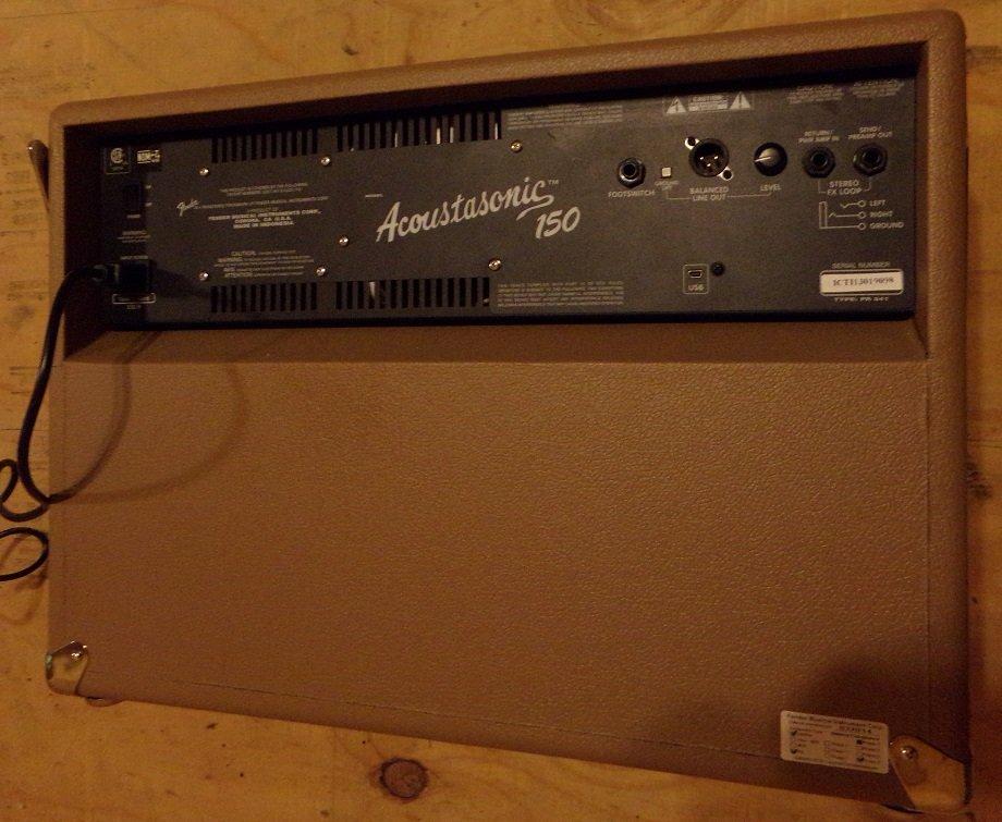 Fender Acoustasonic 150-Watt Acoustic Combo Amp - 3