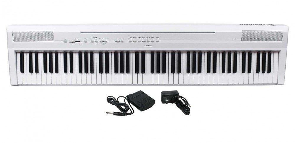Yamaha P-115 Digital Piano White - 2