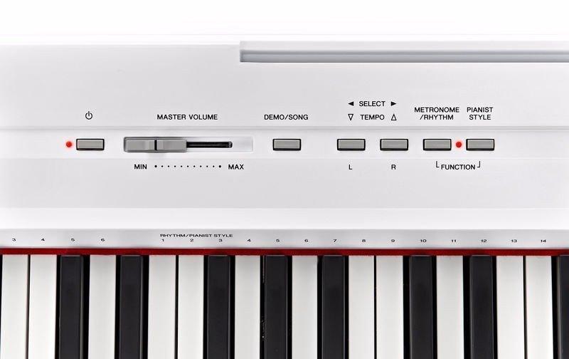 Yamaha P-115 Digital Piano White - 4