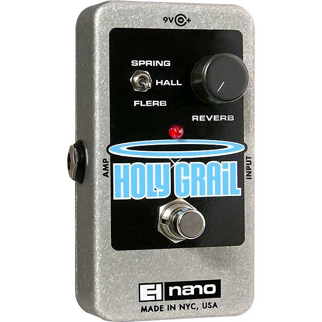 Electro-Harmonix Holy Grail Nano Reverb Guitar Effects