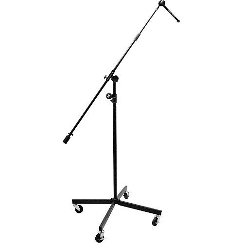 "Studio Boom with 7"" Mini Boom Extension and Casters"