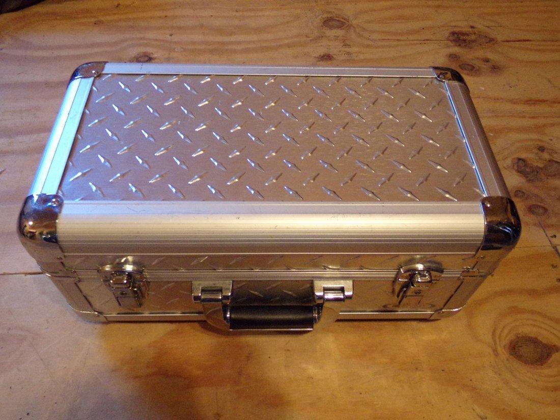 Odyssey Case  Silver Diamond series.